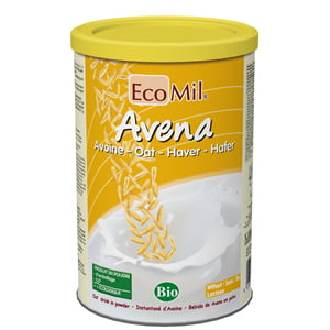 BIO EcoMil Lapte Praf din Ovaz cu Calciu Marin Organic - 400g