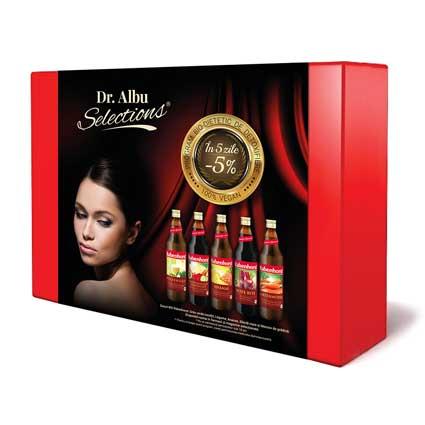Kit 5 ZILE, Program Bio-Dietetic de Detoxifiere Detoxifiere kit Kit detoxifiere dr albu