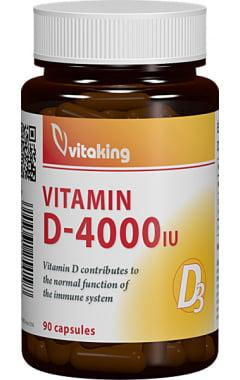 Vitamina D3 FORTE Vitaking 4.000ui - 90 cps