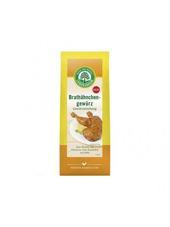 Amestec de condimente pentru FRIPTURA de PUI, CURCAN sau IEPURE, Ecologice BIO LEBENSBAUM - punga 60g. Poza 6386