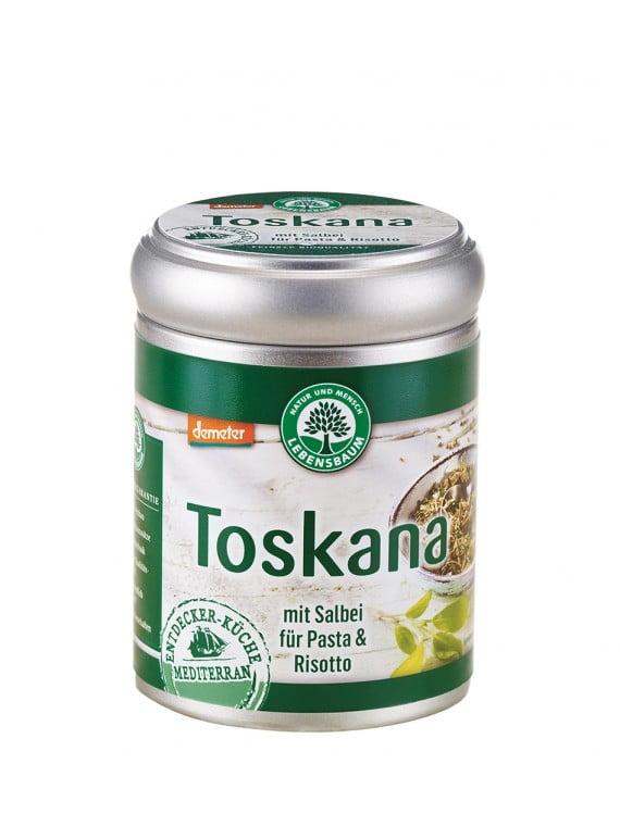 Amestec de condiment cu salvie TOSKANA - pentru paste si risotto, BIO LEBENSBAUM - cutie 45g. Poza 6518